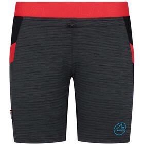 La Sportiva Circuit Pantaloncini Donna, nero/rosso